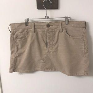 Levi's corduroy mini-skirt